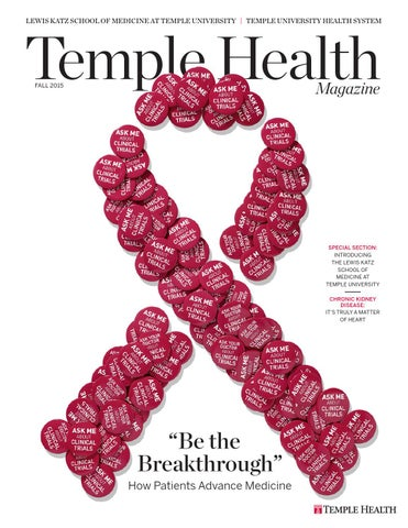 Temple Health - Temple Health Magazine - Fall 2015 by Temple Health