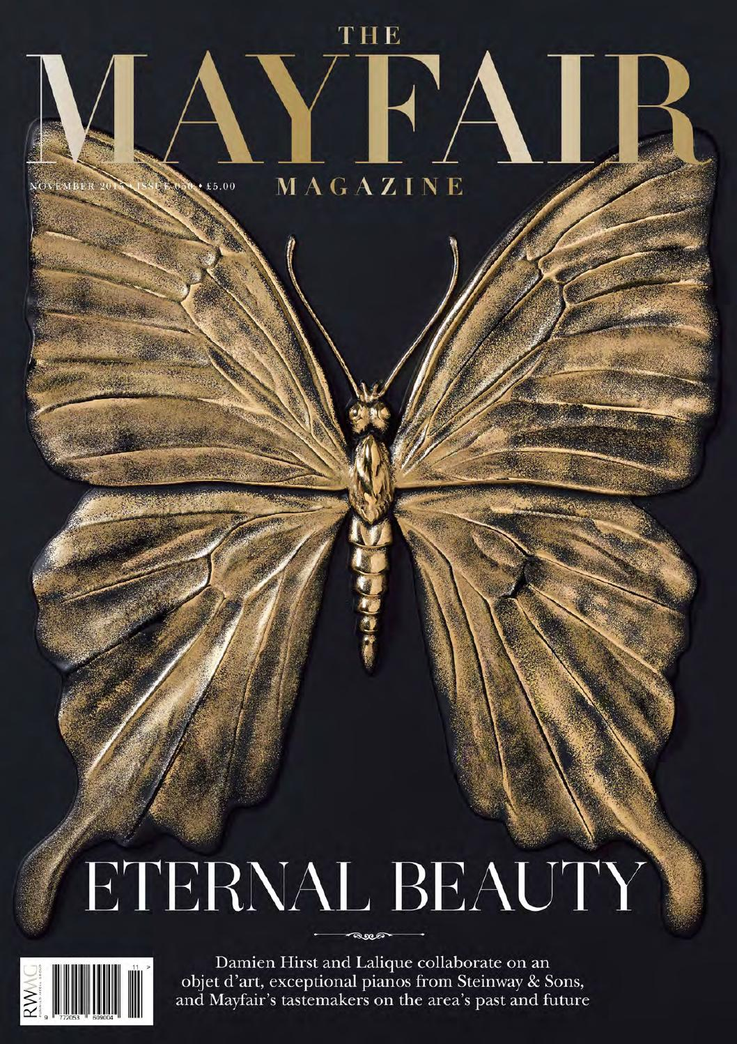 The Mayfair Magazine November 2015 By Runwild Media Group