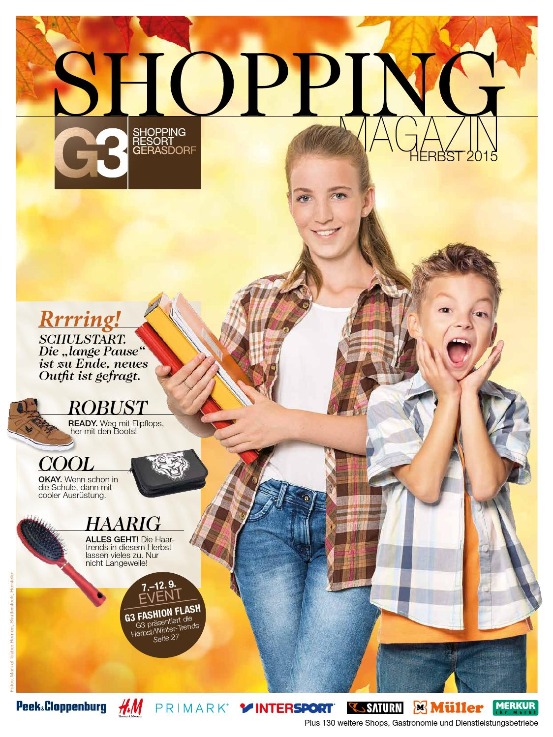 save off run shoes preview of G3 Shopping Magazin 02 2015 Herbst by LW Werbe- und Verlags ...