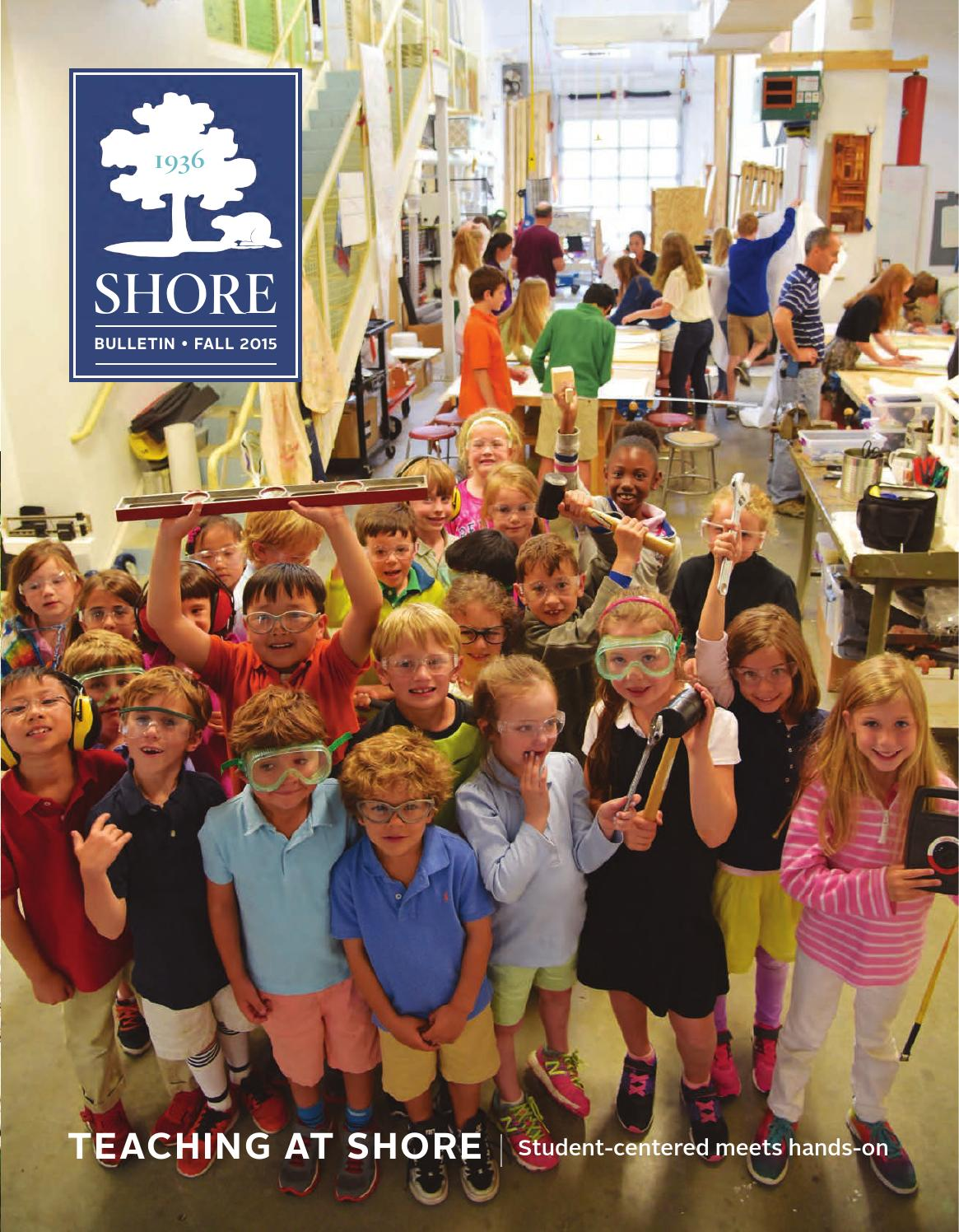 shore country day bulletin fall 2015 by shore country