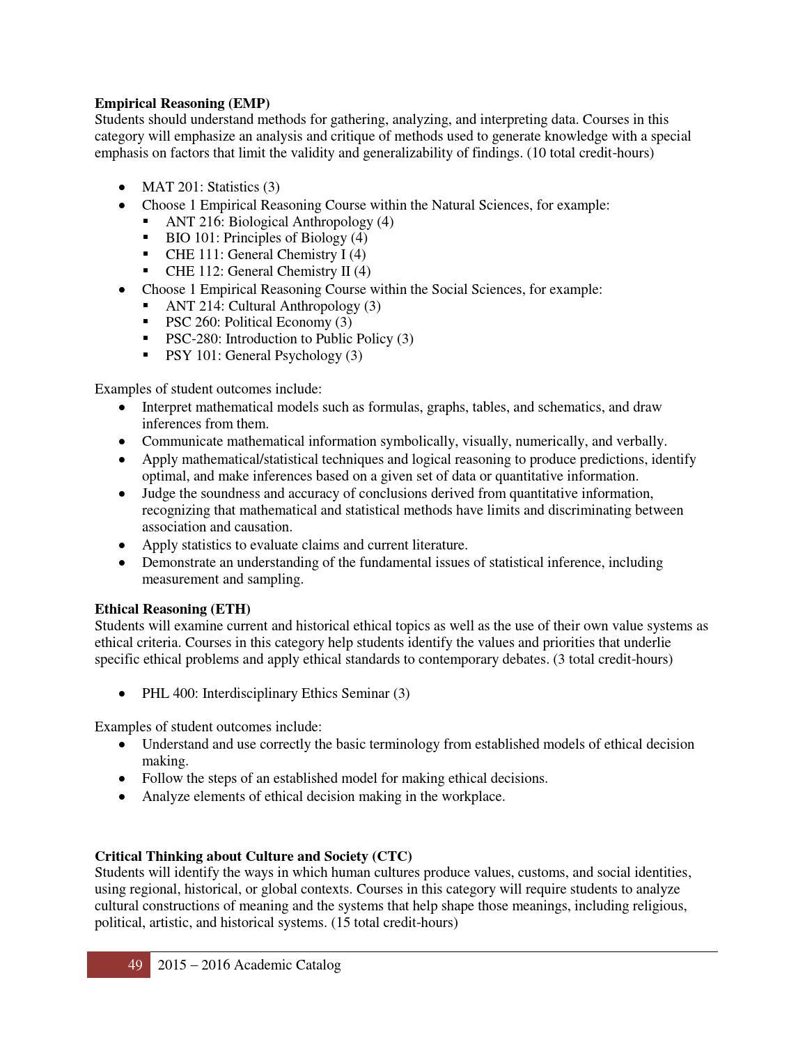 SPS Academic Catalog 2015-2016 by William Peace University - issuu