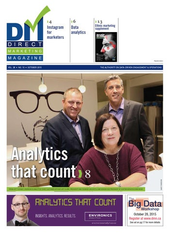 d7fbffe41c68 Direct Marketing Magazine October 2015 by Lloydmedia Inc - issuu