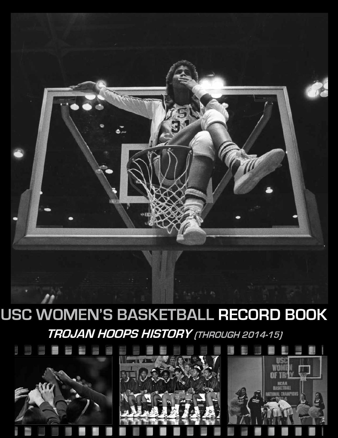 2015 16 Usc Women S Basketball Record Book By Darcy Couch Issuu