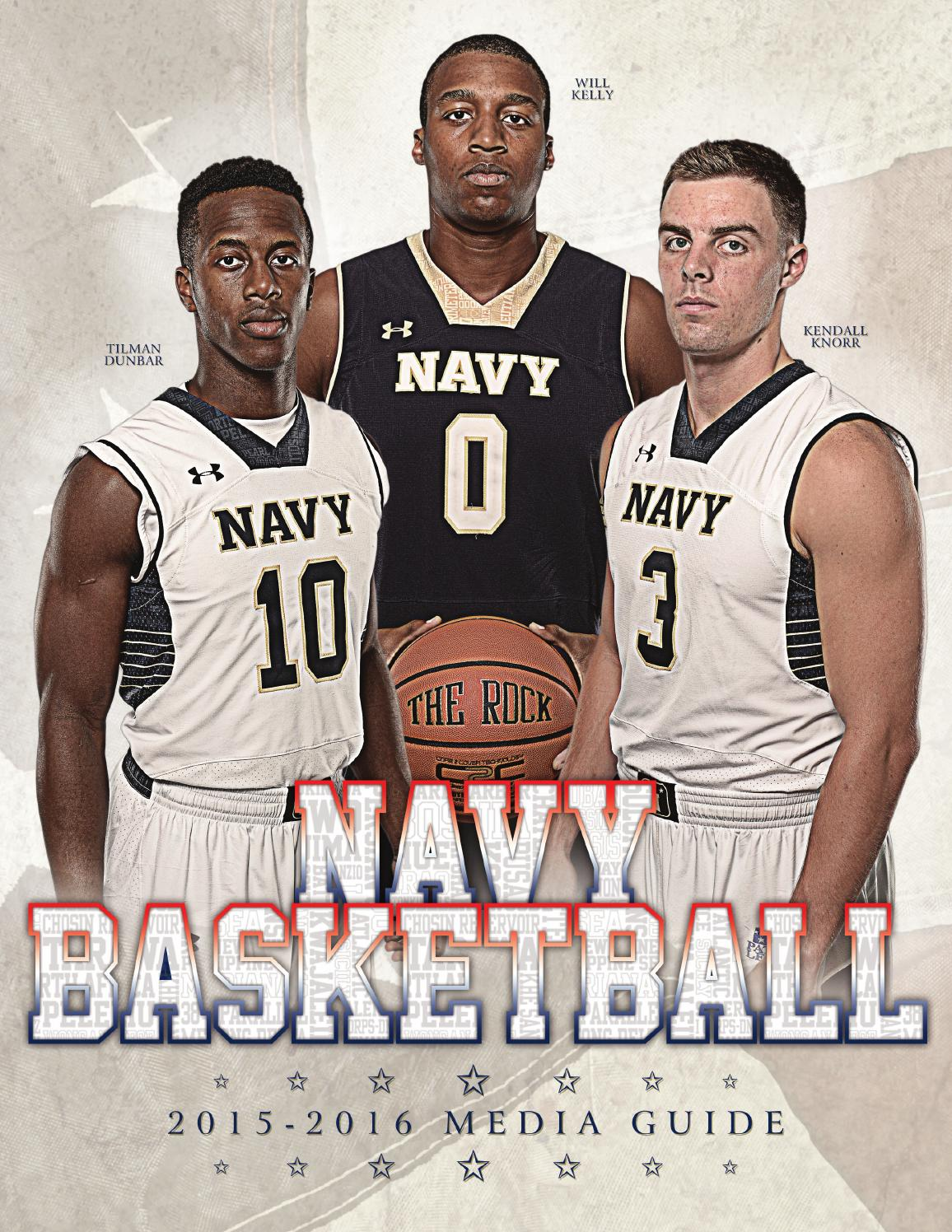 2015-16 Men's Basketball Guide by Naval Academy Athletic ...
