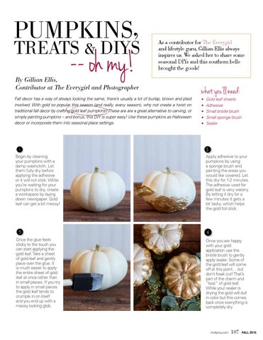 Page 107 of Pumpkins, Treats & DIYs –– Oh My!