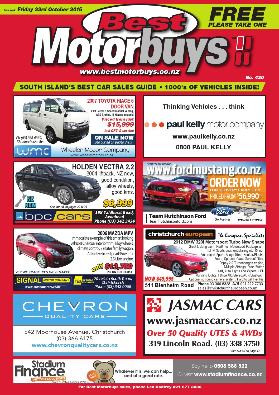 Best Motorbuys 23 10 15 By Local Newspapers Issuu 2002 Ford Focus Se Wagon 20 Liter Dohc 16valve Zetec 4 Cylinder