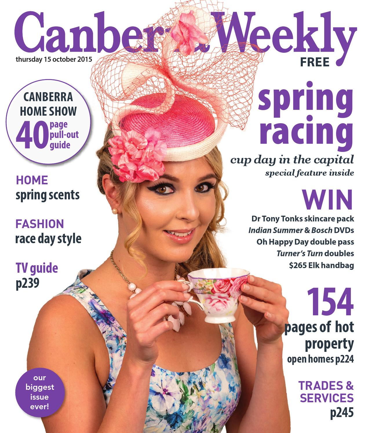 1117922619 15 October 2015 by Canberra Weekly Magazine - issuu