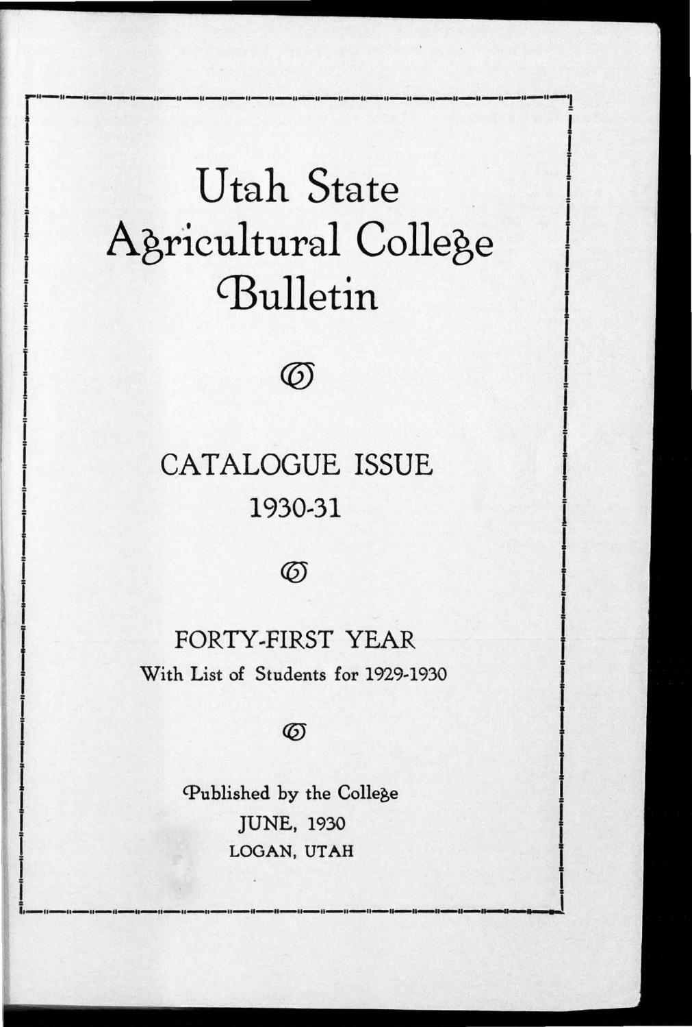 General Catalogue 1930 By Usu Digital Commons Issuu Logan Lathe Wiring Diagram