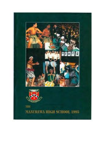 Magazine 1995 By Manurewa High School Issuu