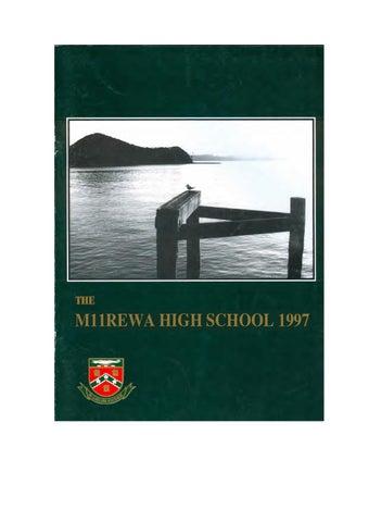Magazine 1997 By Manurewa High School Issuu
