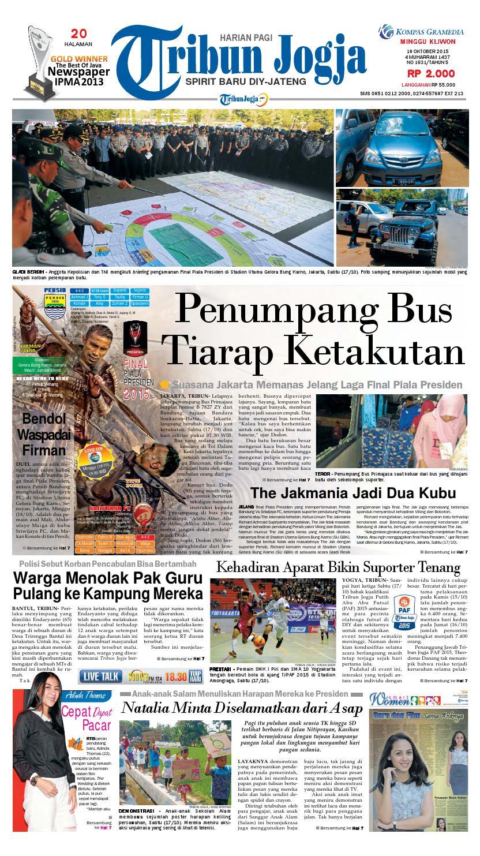 Tribunjogja 18 10 2015 By Tribun Jogja Issuu Kopibubuk Robusta Toko Rezeki Akumandiri Malang