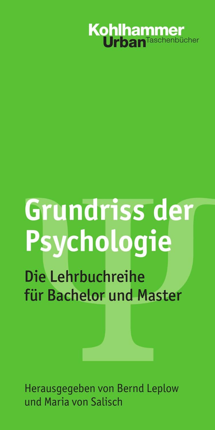Psychologie Studieninhalte