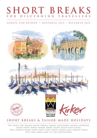 Kirker short breaks 2014 to 2015 lores mwt by Malvern World Travel ... fc71afd168e