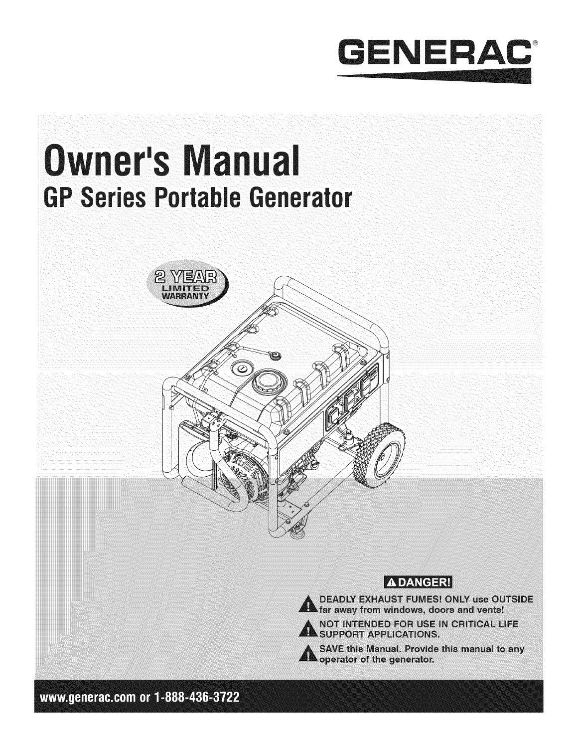 Shop Generac 200 Manual Guide
