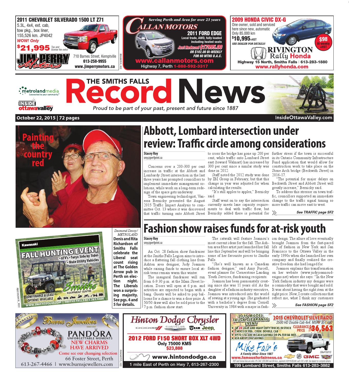Smithsfalls102215 By Metroland East Smiths Falls Record News Issuu Dr Kevin Soft Ampamp Comfortable Men Slip On 9307 Black