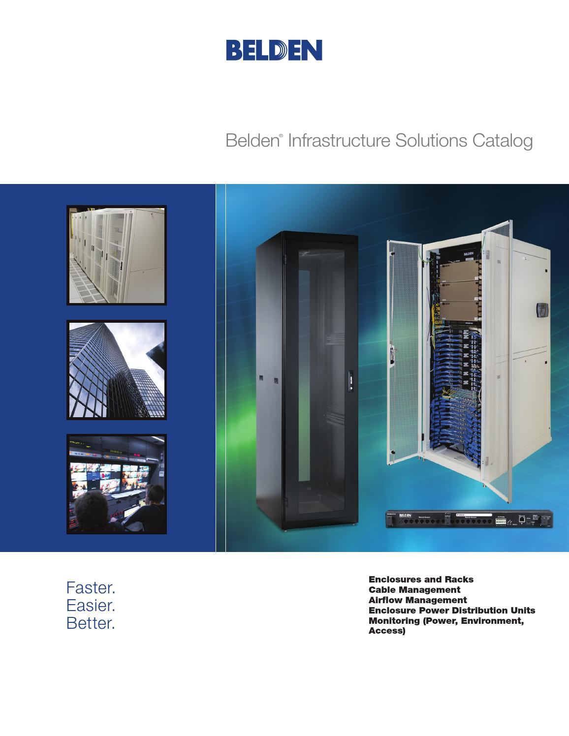 Belden infrastructure solutions catalog by SUCABSA - issuu