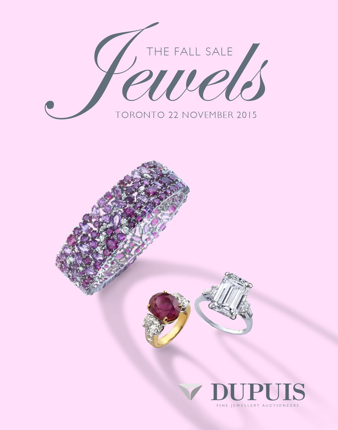 Fall 2015 Jewels Auction by Dupuis Auctioneers - issuu