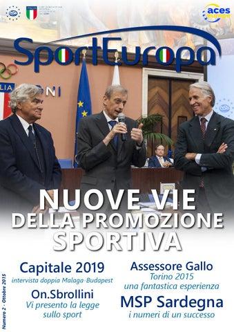 Sport Europa - ottobre 2015 by Sport Europa - issuu 4fe0f7cf9fa