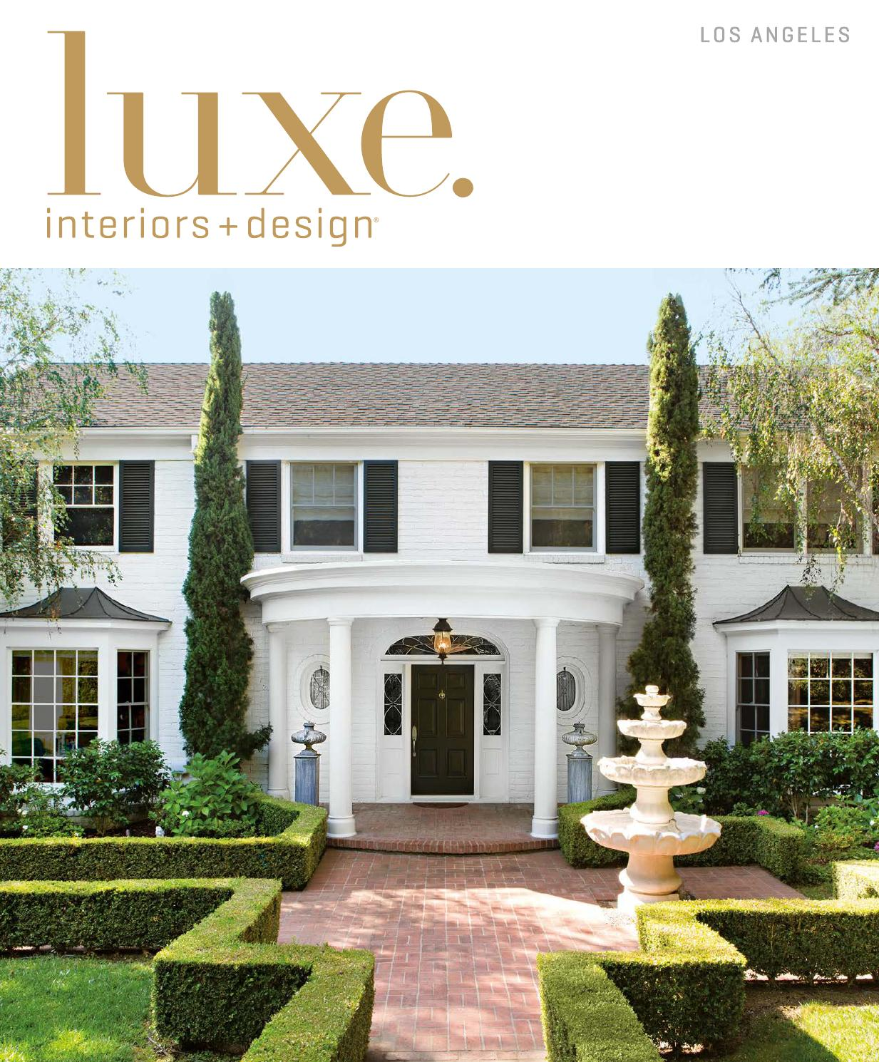 Luxe Magazine November 2015 Los Angeles by SANDOW Issuu