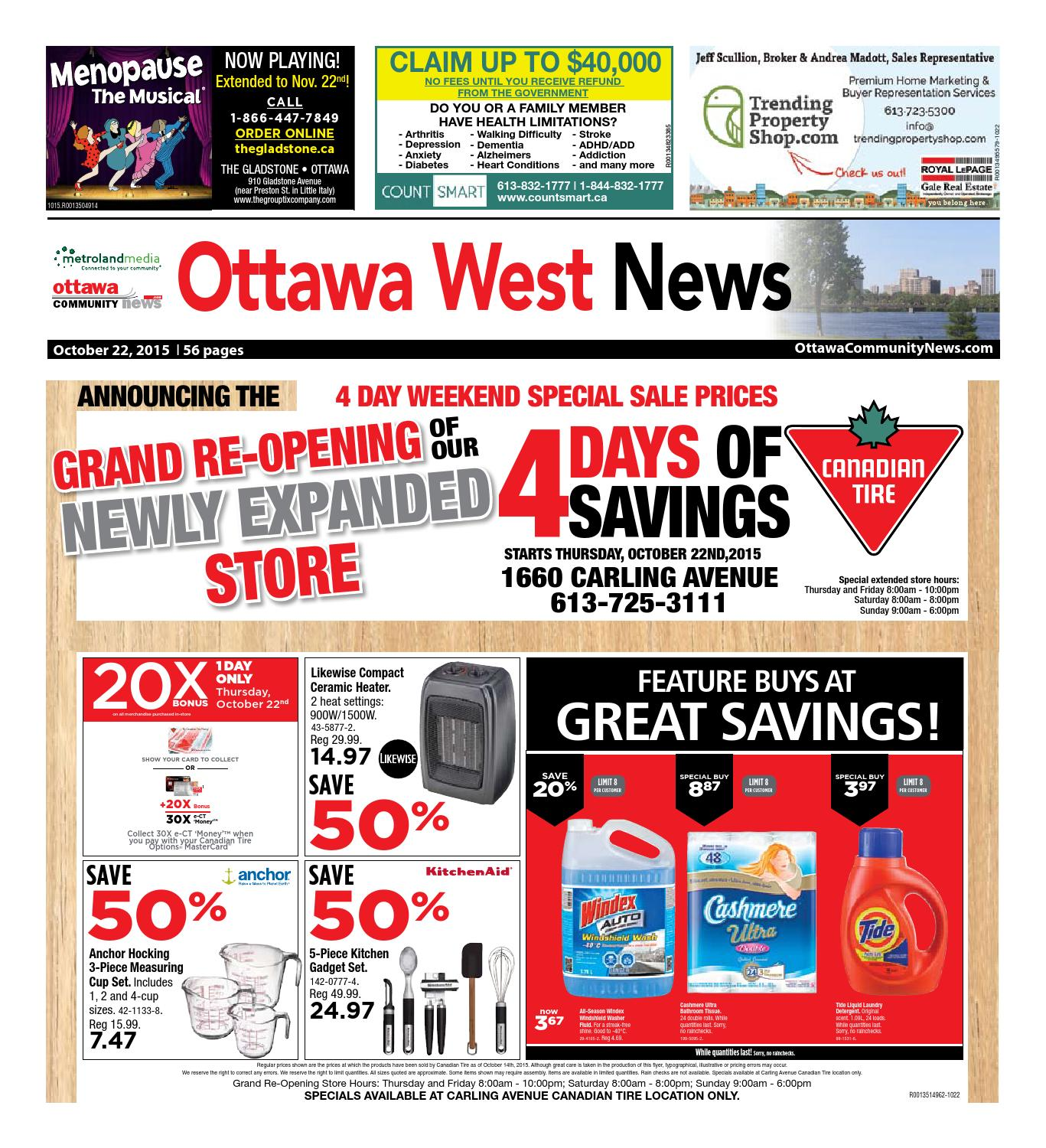 Ottawawest102215 By Metroland East Ottawa West News Issuu Franke Independence Day  Buy 2 Appliances Free Cooker Hood