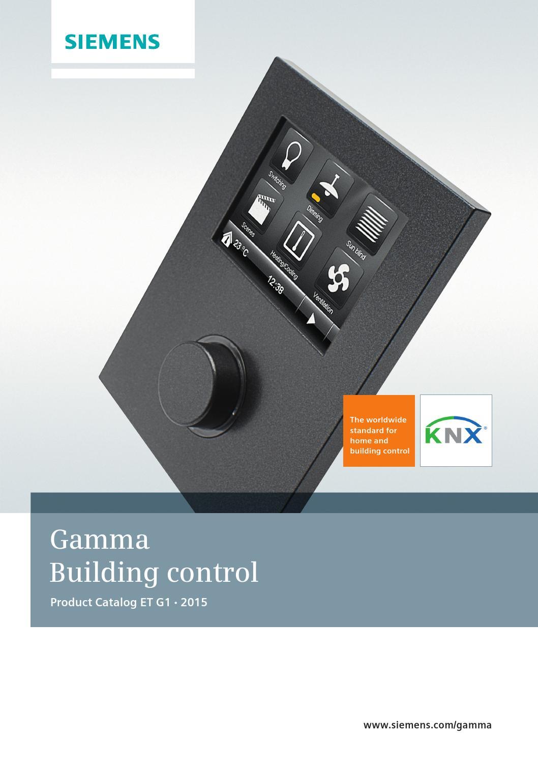 Gamma Building Control 2015 By Enrique Fernandez Issuu Siemen Actuators Valve Wiring Diagram 289