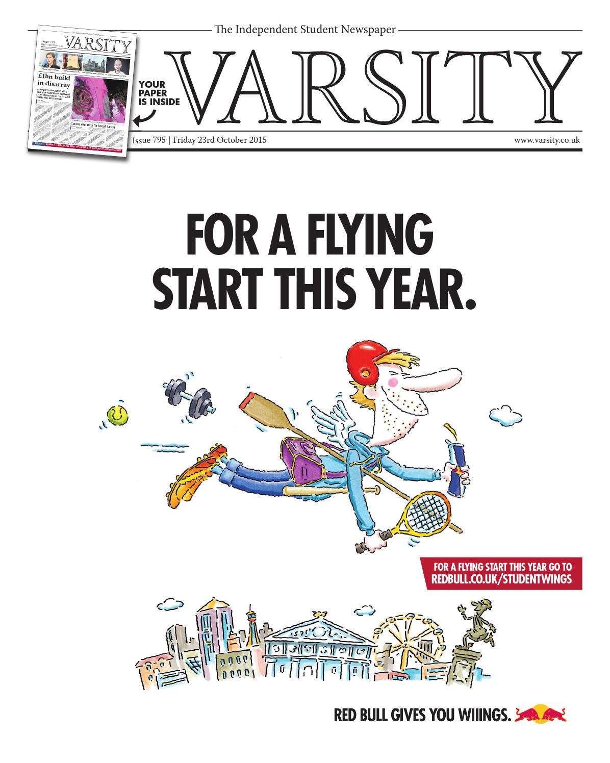 Varsity Issue 795 by Varsity Publications Ltd - issuu