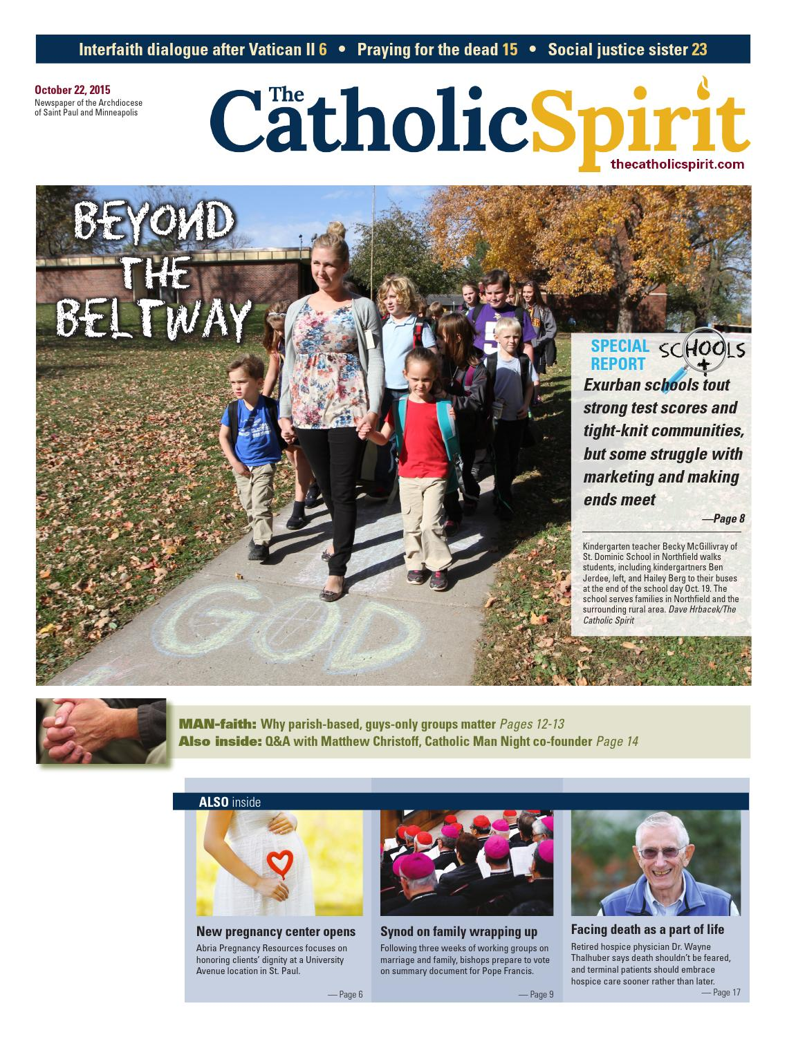 The Catholic Spirit - October 22, 2015 by The Catholic Spirit ...