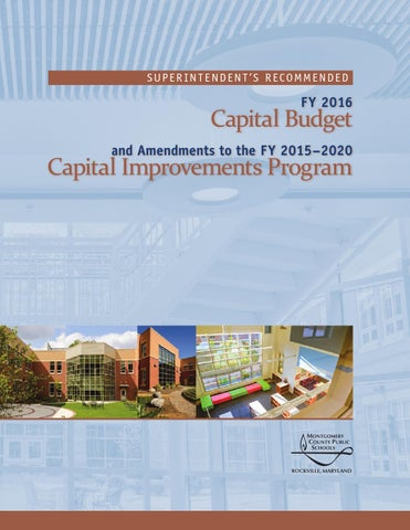 MCPS: FY2016 Educational Facilities Master Plan by Fallsmead - issuu