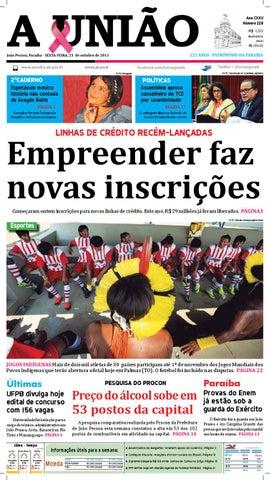 25acfc0548744 Jornal A União - 23 10 2015 by Jornal A União - issuu