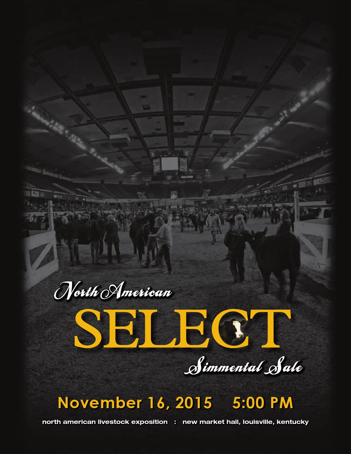 Naile Simmental Select Sale 2015 By Bohrson Marketing