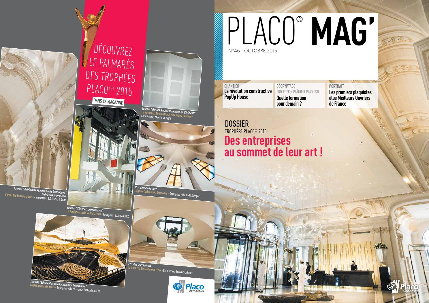 placo mag 46 by placo issuu. Black Bedroom Furniture Sets. Home Design Ideas