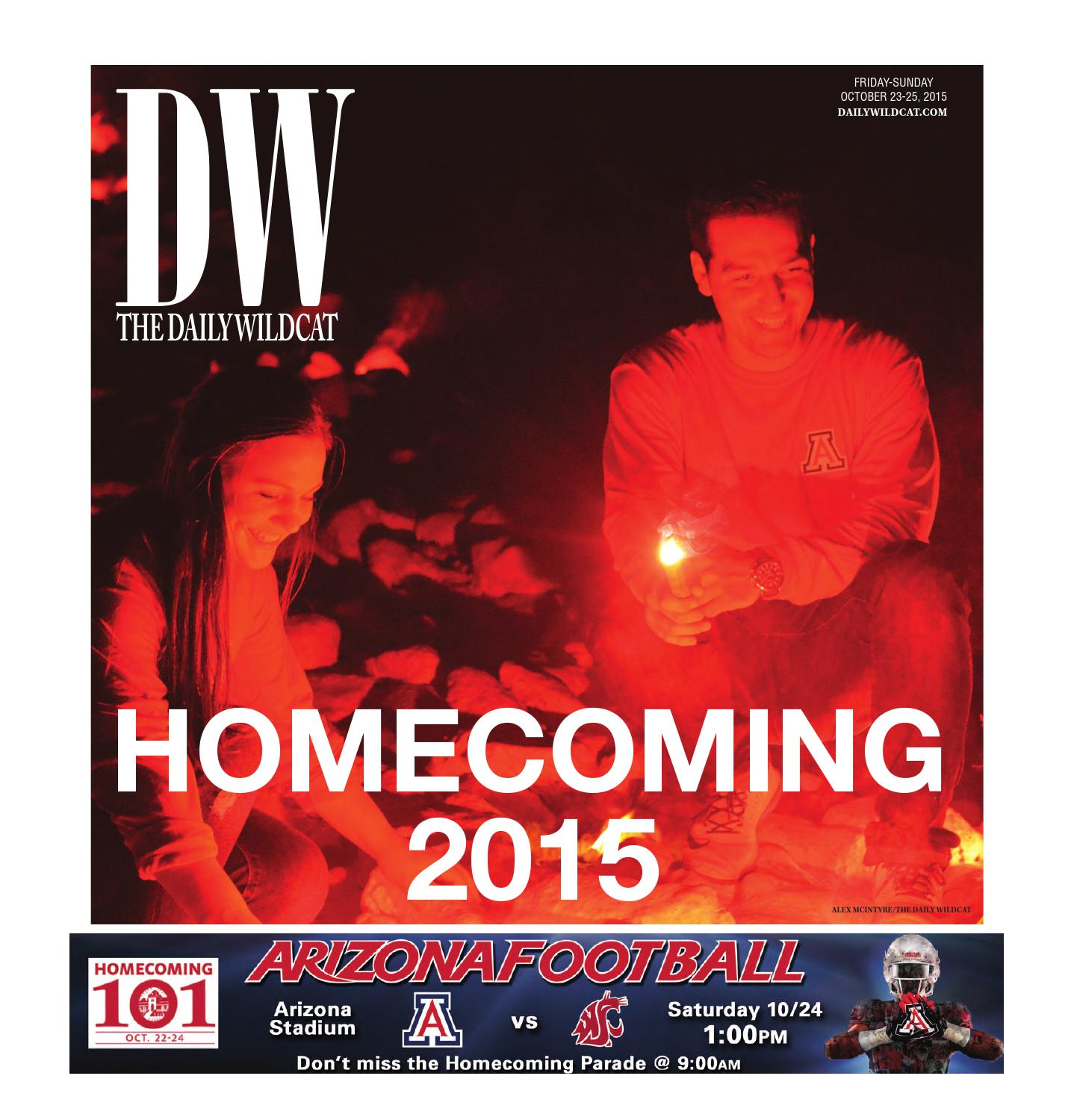 The Daily Wildcat 10 23 15 - Homecoming 2015 Edition by