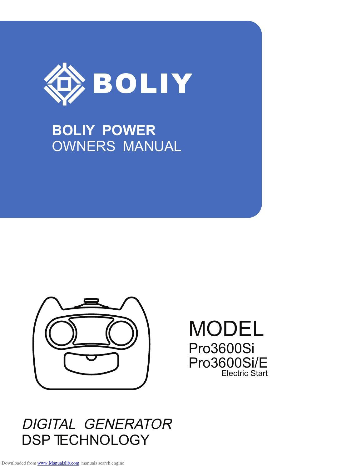 boliy pro3600si manual by popunder net issuu rh issuu com