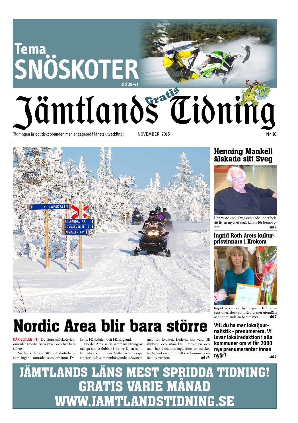 Jt15m10 web by Jämtlands Tidning - issuu 43fcfb34ee850