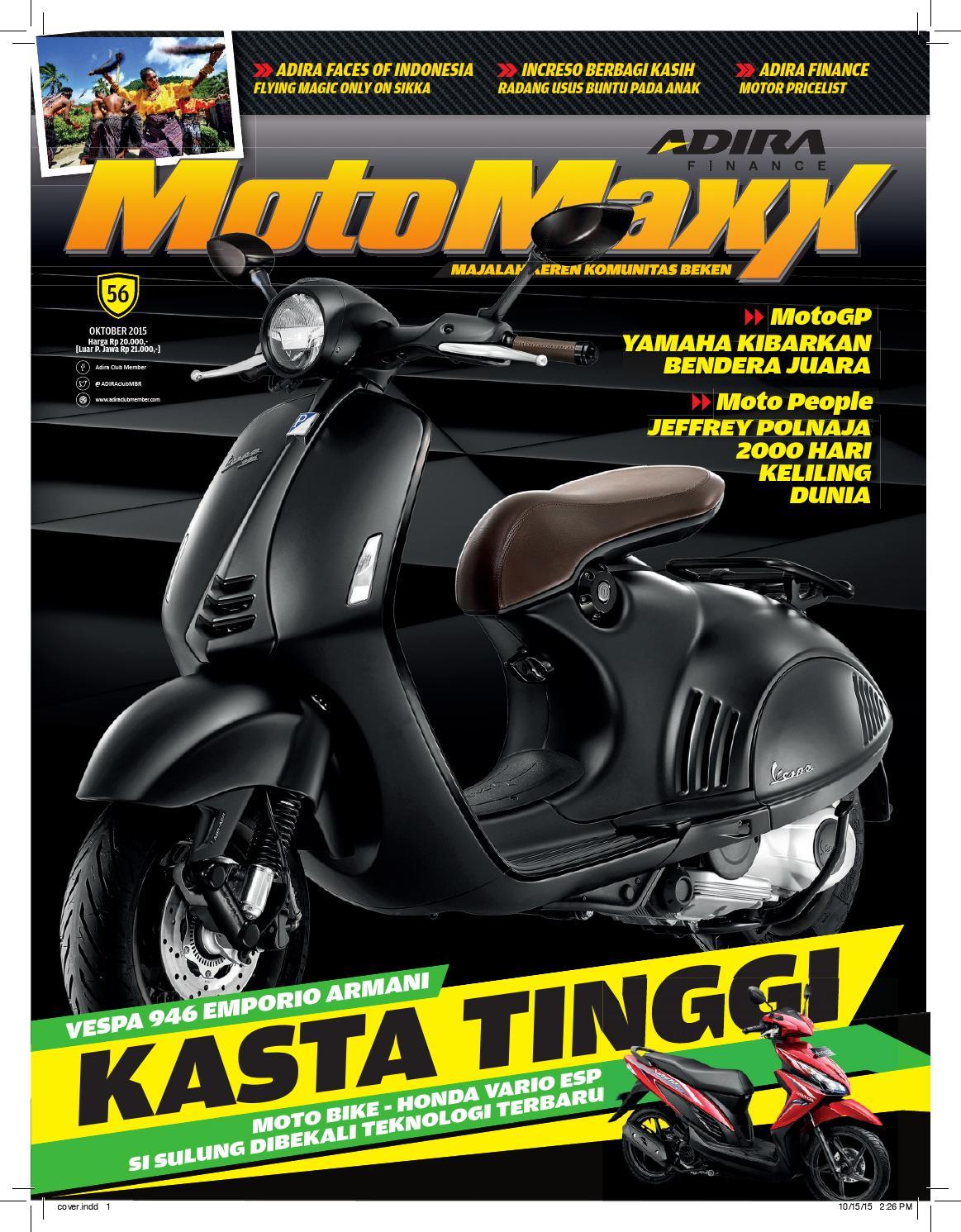 Motomaxx 04 2013 By Adira Member Issuu New Supra X 125 Fi Cast Wheel Energetic Red Kota Semarang 10 2015