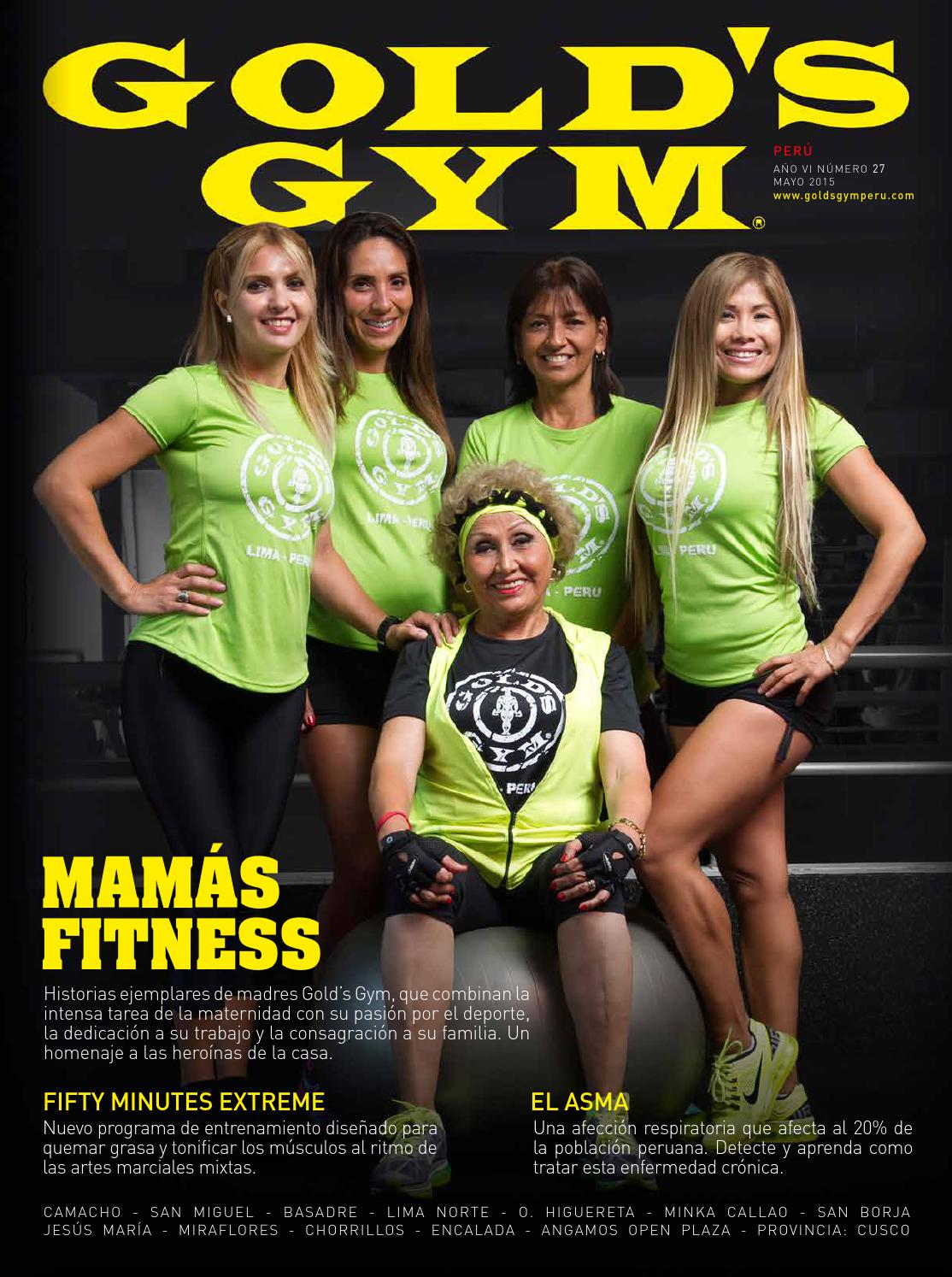 Revista gold 39 s gym edici n n 27 by davidleonhs issuu for Gimnasio pacific