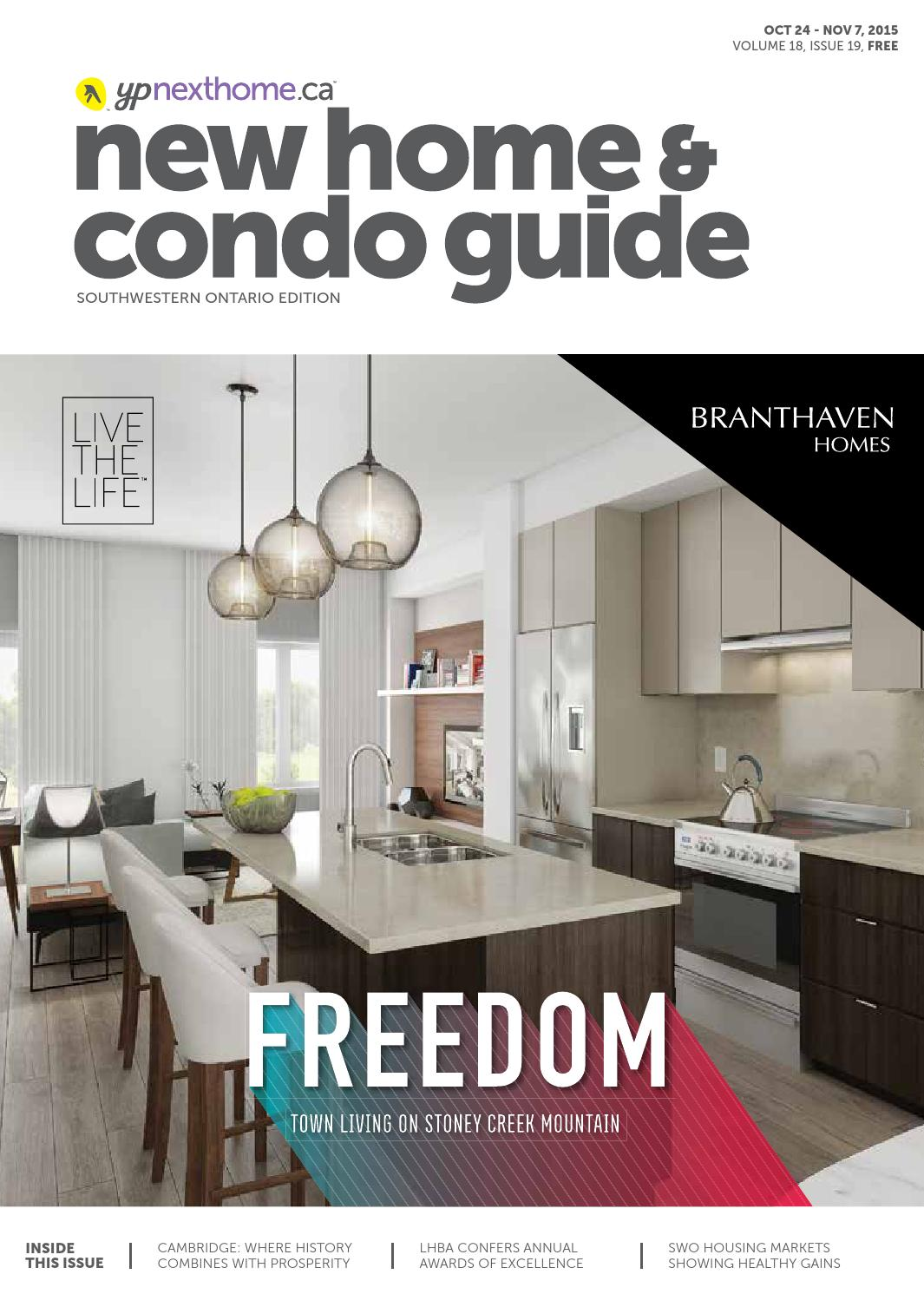Southwestern Ontario New Home and Condo Guide - Oct 24, 2015 by ...