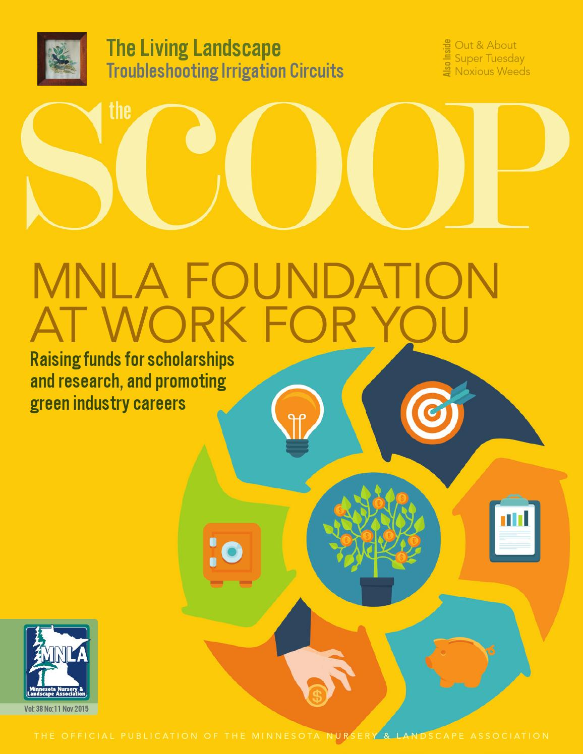 The Scoop Online - November 2015 by Minnesota Nursery
