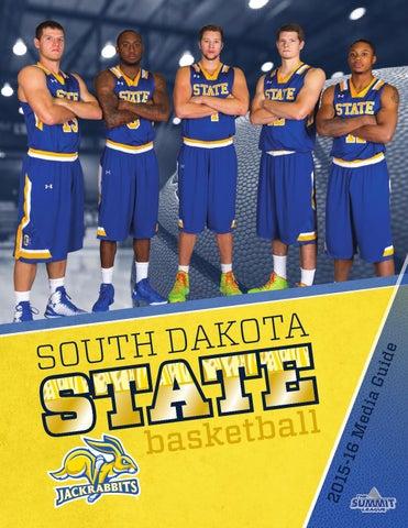 2f6736edc 2015-16 SDSU men s basketball media guide by South Dakota State ...