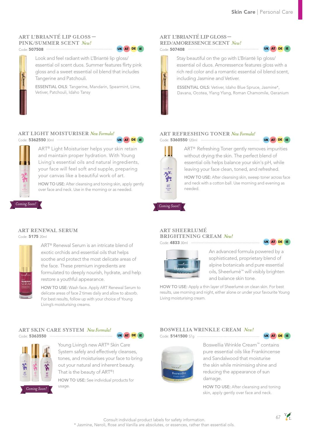 European Product Guide 2015 - English by Young Living