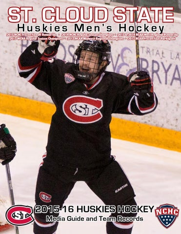 44de87d8408 2015-16 St. Cloud State University men s hockey guide by Tom Nelson - issuu