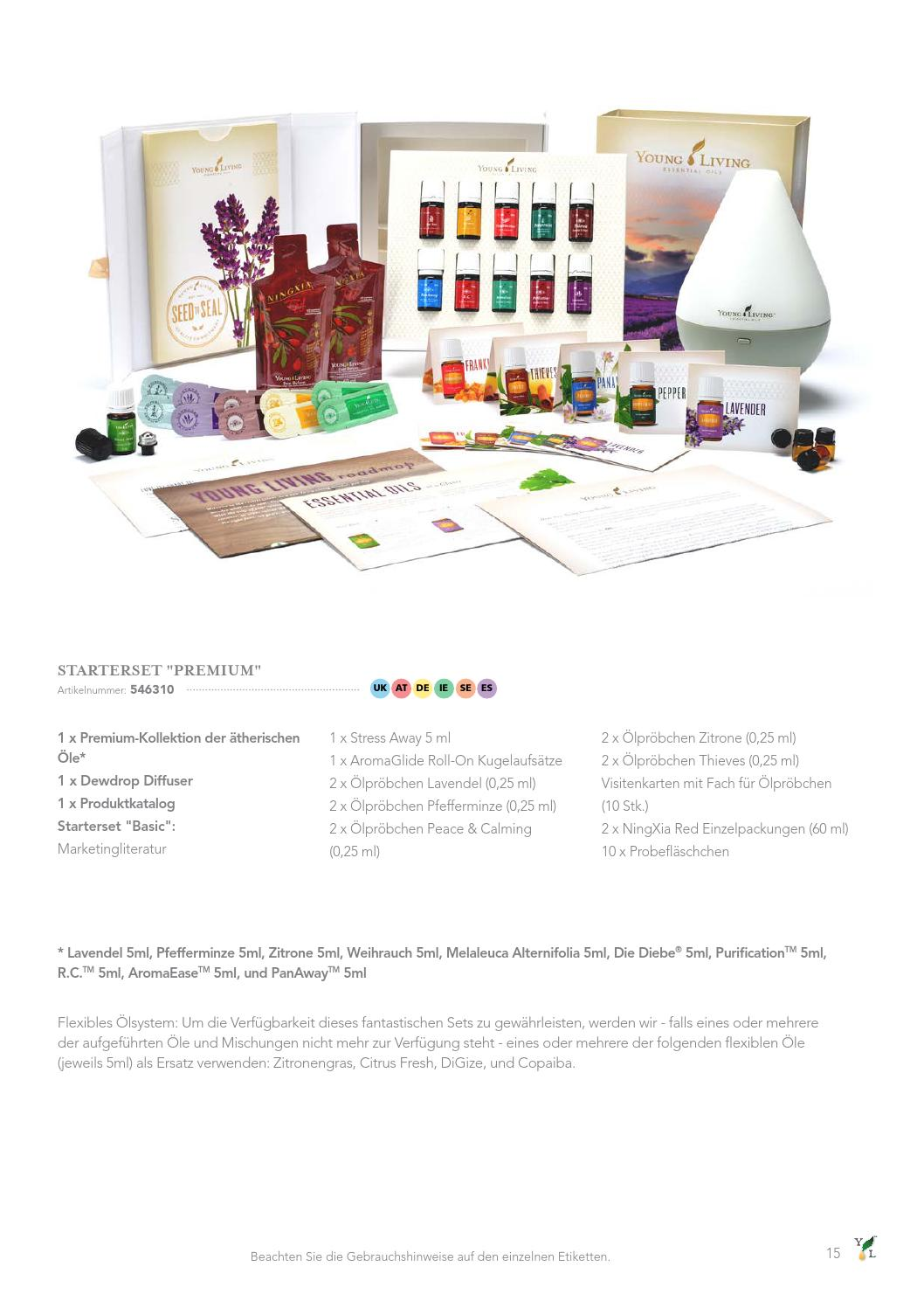 European Product Guide 2015 German By Young Living