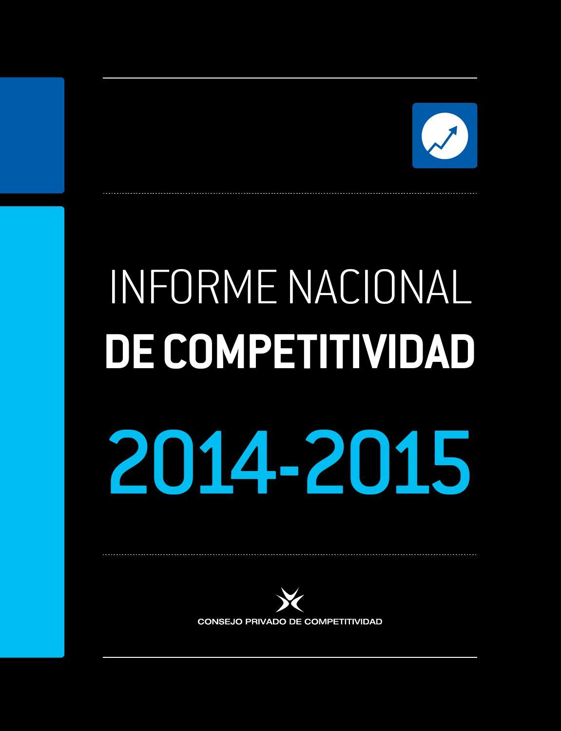 Informe de competitividad 2014-2015 by gihero - issuu