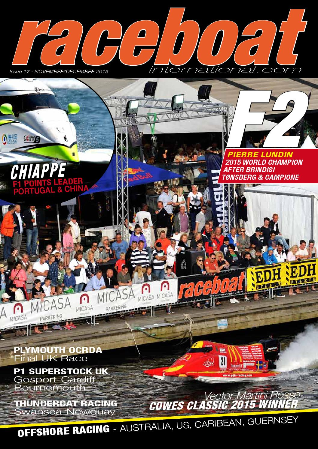nuovo massimo amazon selezione mondiale di Raceboat international issue #17a by Raceboat International ...