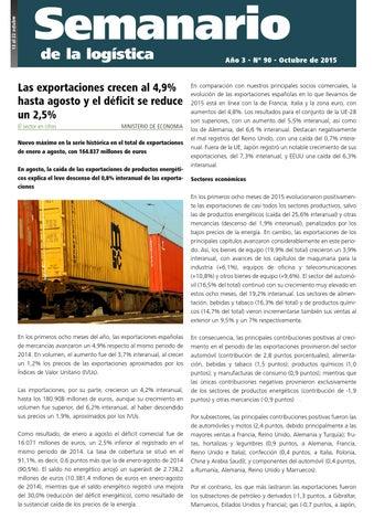 5311d7b72aa Semanario de la Logística 90 by Quan Libet - issuu