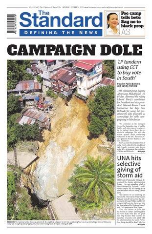 36378c07d The Standard - 2015 October 24 - Saturday by Manila Standard - issuu