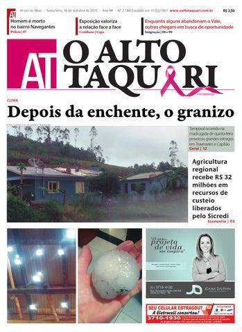 Jornal O Alto Taquari - 16 de outubro de 2015 by Jornal O Alto ... c0dc5414ed5