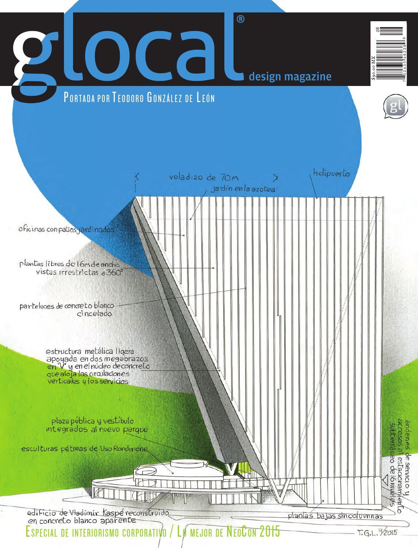 GLOCAL DESIGN MAGAZINE No 28 Portada por / Cover by: TEODORO ...