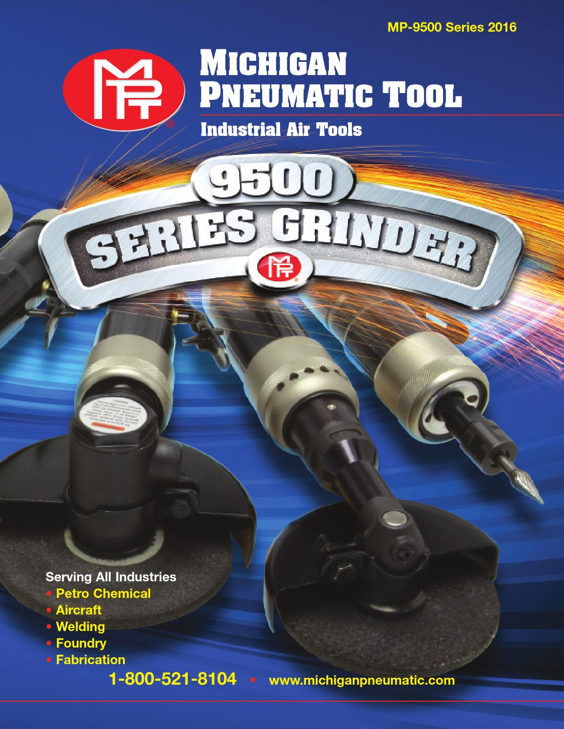 Mpt 9500 Series Flyer By Michigan Pneumatic Tool Inc Issuu