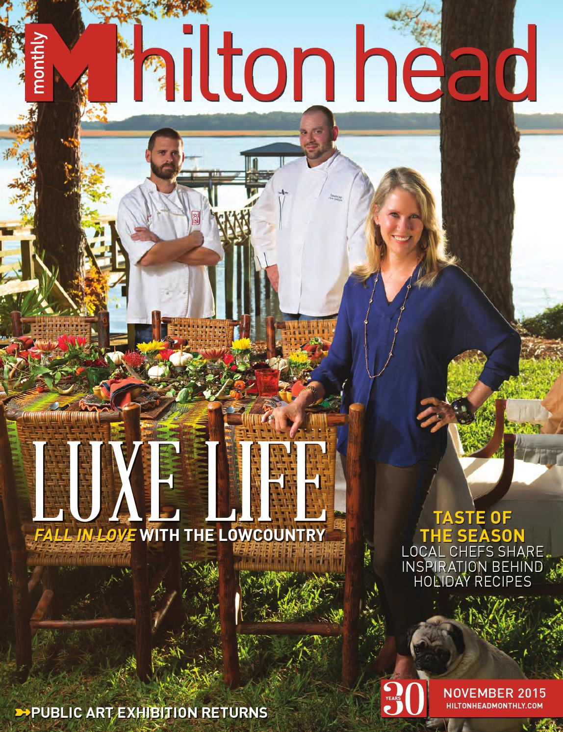 Hilton Head Monthly November 2015 by Hilton Head Monthly - issuu